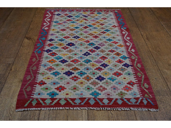 Kundoz Kilim Rug - Rugs of Petworth