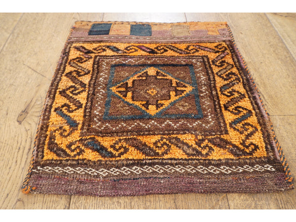 Vintage Tribal Bag Rug