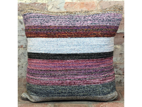 Modern Kundoz Kilim Cushion - Rugs of Petworth