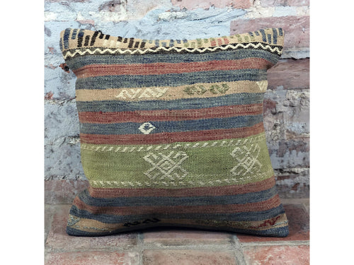Turkish Kilim Cushion (Marked) - Rugs of Petworth