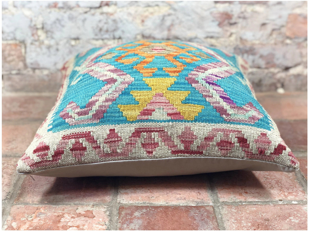 Kundoz Kilim Cushion - Rugs of Petworth