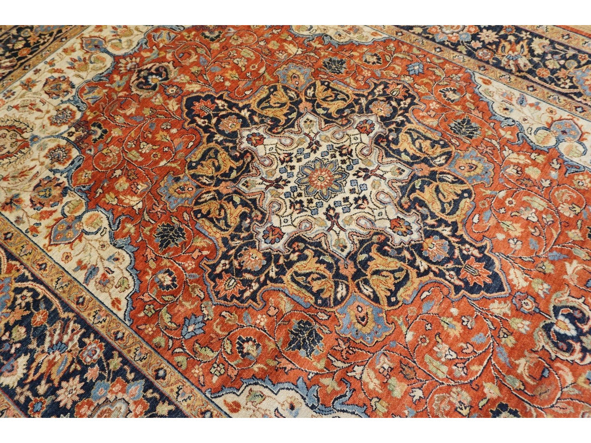 Classic Bhadohi Rug - Rugs of Petworth