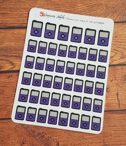 Insulin Pump Stickers - Choose your pump colour!