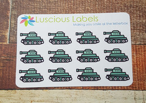Tanks Stickers
