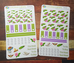 Weeks Kits for Small Planners - Pink Petals