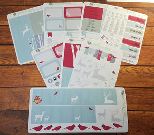 Cardinal & Birch Weekly Planner kit to suit Erin Condren Inspired Planner Pages
