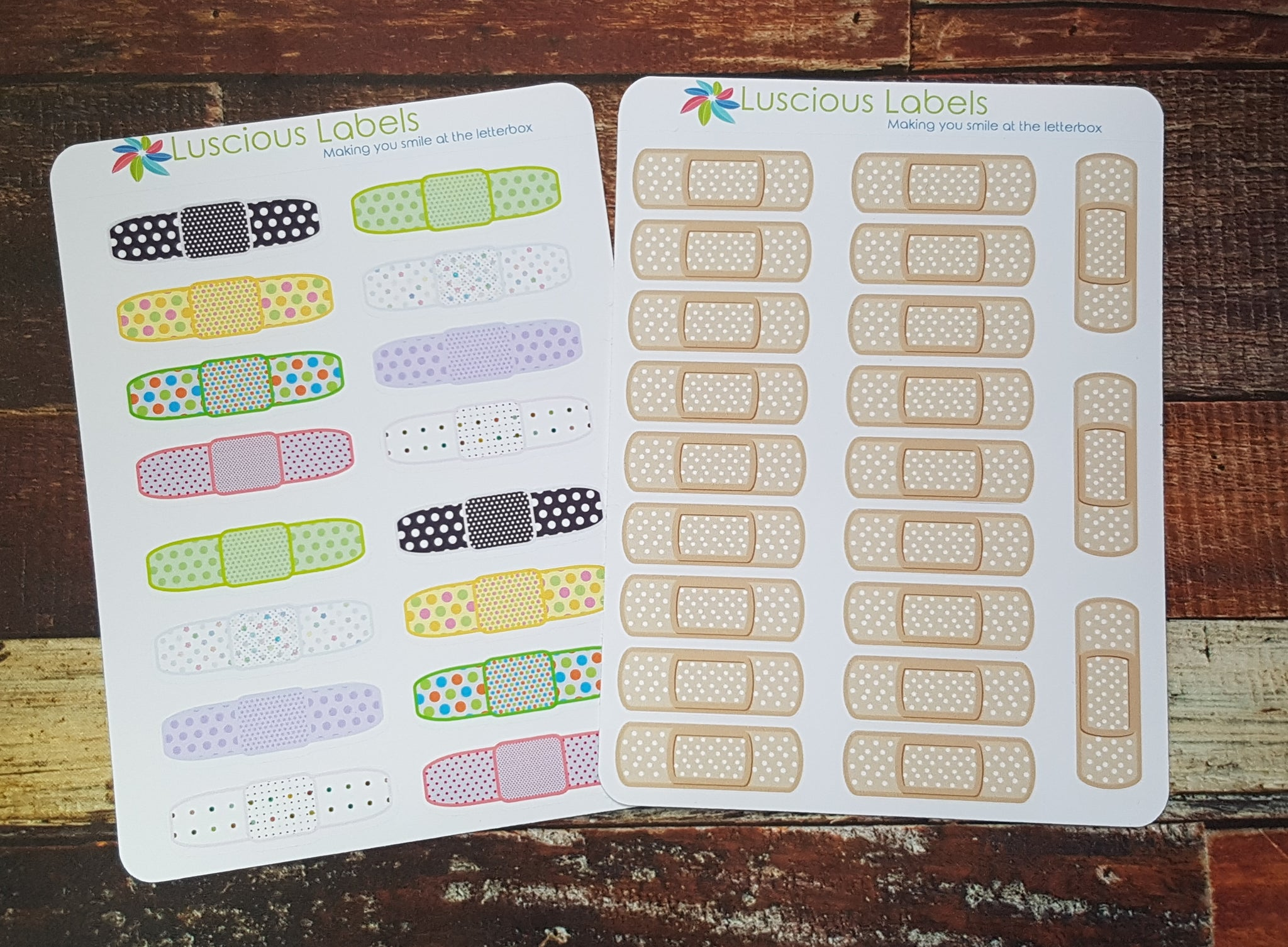 Bandaid Stickers