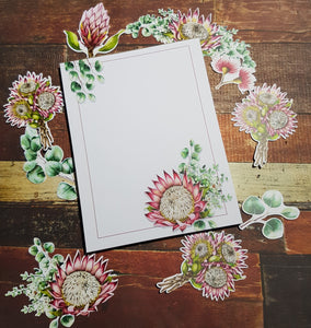 Painted Protea Notepad