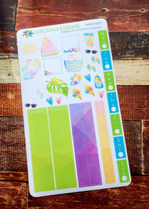 Weeks Kits for Small Planners - Summer Splash