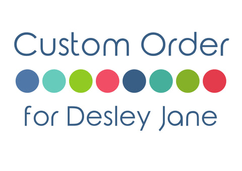 Custom Listing for Desley Jane