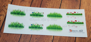 Grass Reflection Decorative stickers
