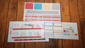 Journal Monthly Kit to suit Erin Condren Monthly Pages