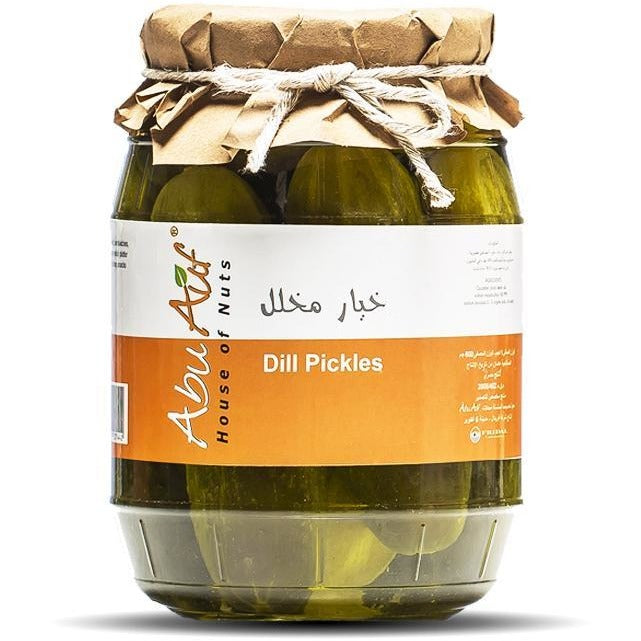 Dill pickles whole 1 KG / خيار مخلل - Abu Auf