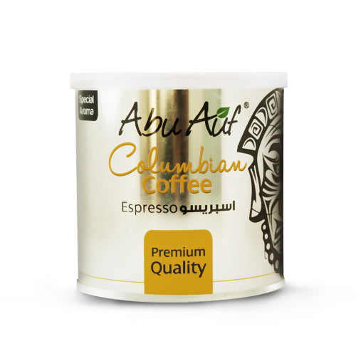 Colombian Coffee Espresso 250 Gm (Grind) /   (بن إسبرسو كولومبى  (مطحون - Abu-Auf.com