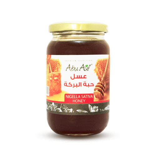 Abu Auf Nigella sativa Honey / عسل حبة البركة - Abu-Auf.com