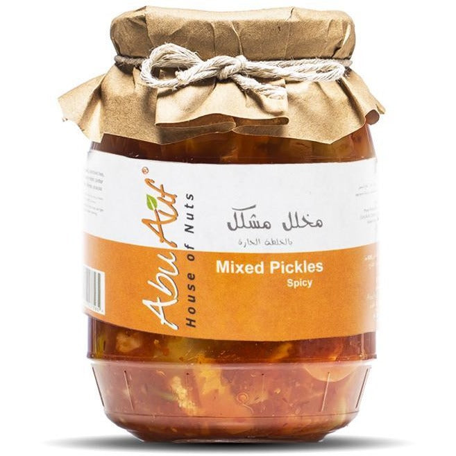 Mixed pickles spicy 1kg / مخلل مشكل بالخلطه الحاره - Abu Auf
