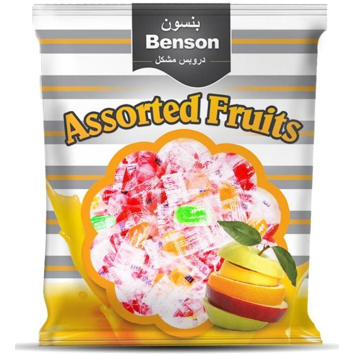 Benson Assorted Fruits , 225 Gm / بنسون بونبون بالفواكه - Abu-Auf.com