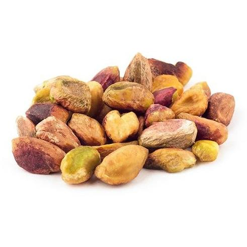 Roasted peeled pistachios (unsalted) /  فستق مقشر محمص - Abu-Auf.com
