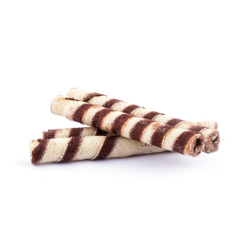 Chocolate Cigar Crispy Wafer - Abu Auf