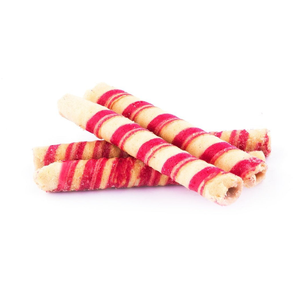 Strawberry Cigar Crispy Wafer - Abu-Auf.com
