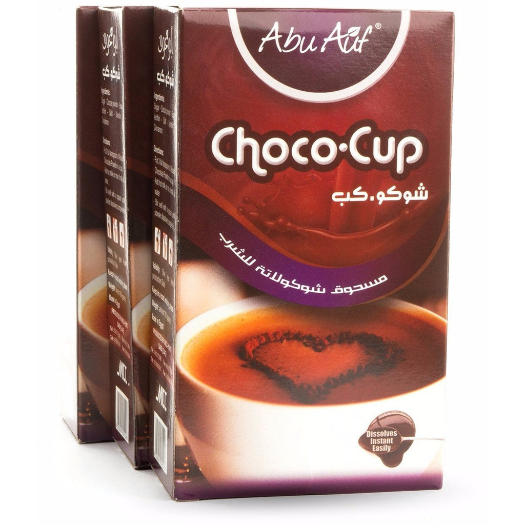 3 Boxes of Choco Cup Drink - 100gm  / مشروب الكاكاو - Abu-Auf.com