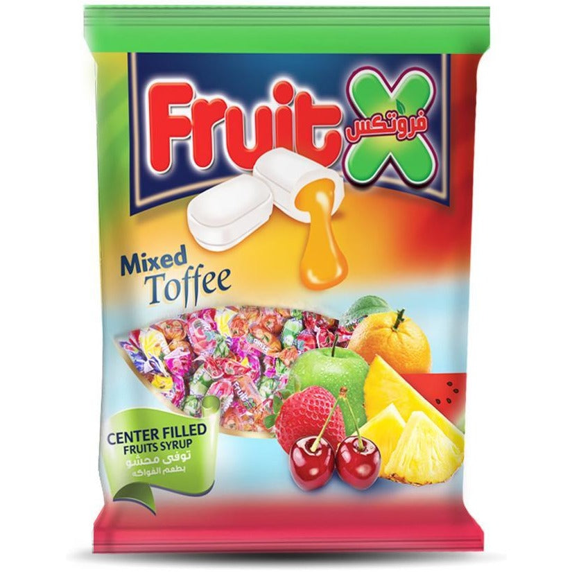 Fruitx Toffe Stuffed With Fruit / توفى بالفواكه - Abu Auf