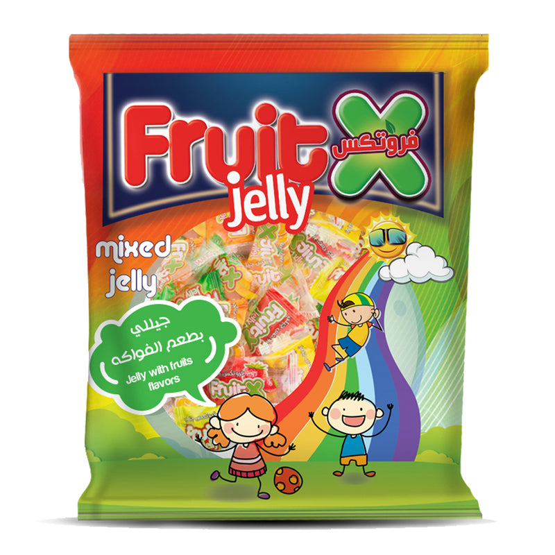 FruitX  jelly  / فروتكس جيلى بالفواكه - Abu-Auf.com