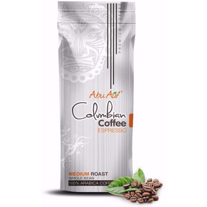 Colombian Coffee Espresso 1 Kg (Whole Bean) /  (بن إسبريسو كولومبى- 1 كيلو جرام (حبوب كامله - Abu-Auf.com
