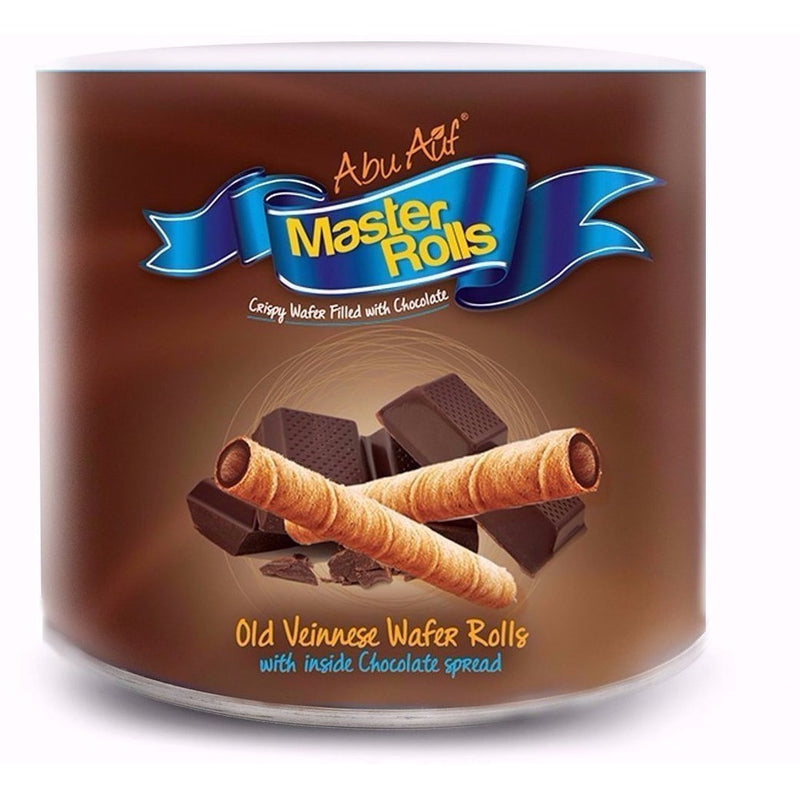 Master Rolls Crispy Wafer Filled With Chocolate , 24 Pcs - Abu-Auf.com