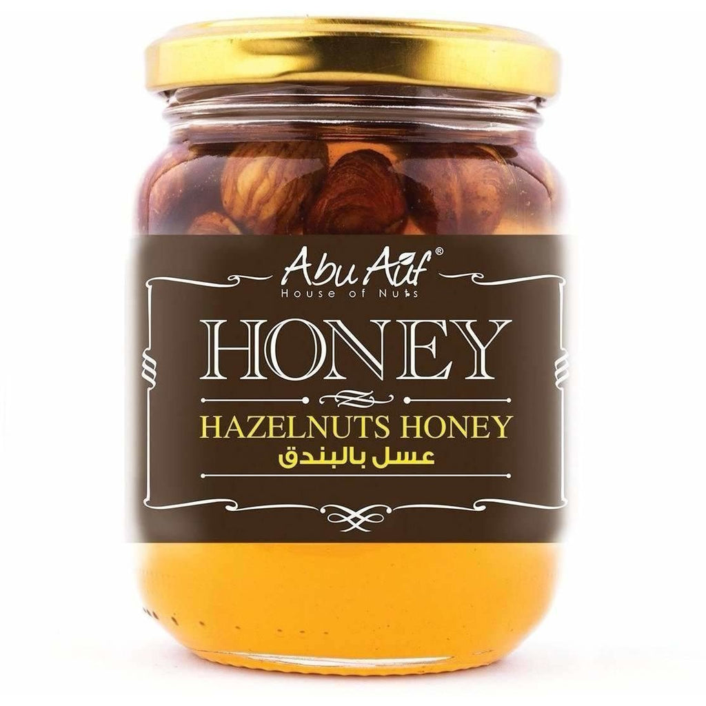Abu Auf Hazelnut Honey / عسل بندق - Abu-Auf.com