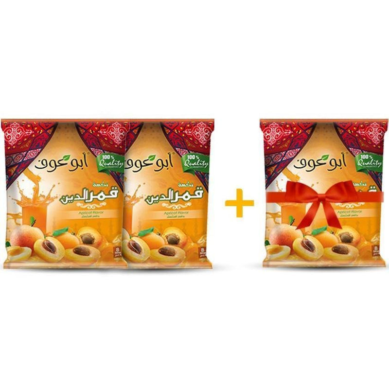 2 Packs of Apricot Drink - 600 gm + 1 for Free