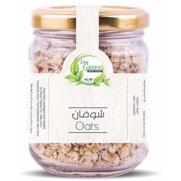 Live Green Cooking Oats, 65 gm / حبوب الشوفان - Abu Auf