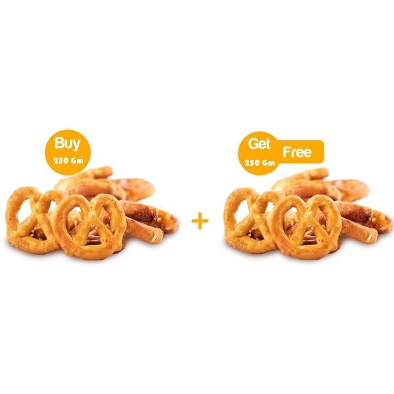 250 Gm of Pretzels + 250 Gm For Free - Abu-Auf.com