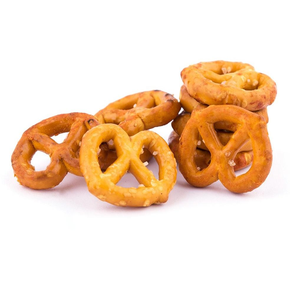 Roasted Pretzels / بريتزل محمص بطعم - Abu-Auf.com