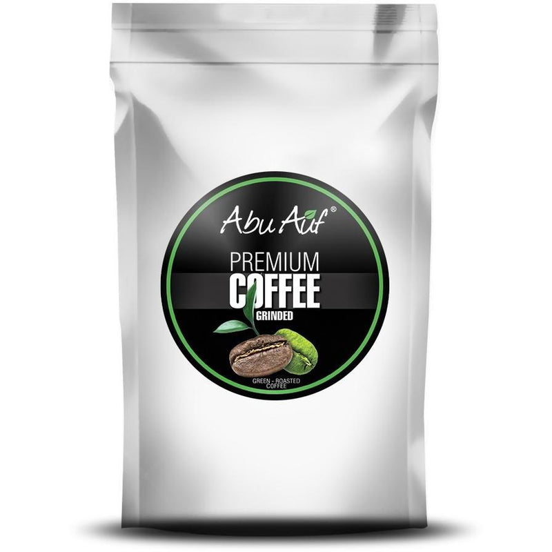 French Grinded Coffee, Medium Roast 200 gm / بن فرنساوى - Abu Auf