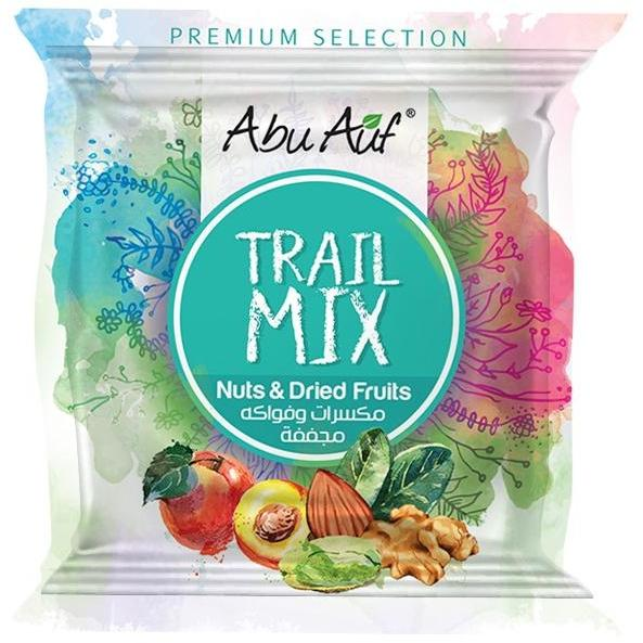 Trail Mix Nuts And Dried Fruits- 25 Gram - Abu Auf