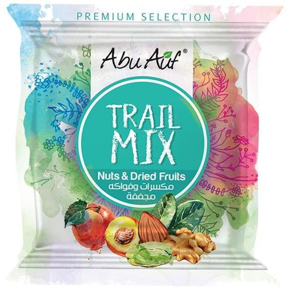 Abu Auf Trail Mix Nuts And Dried Fruits- 25 Gram