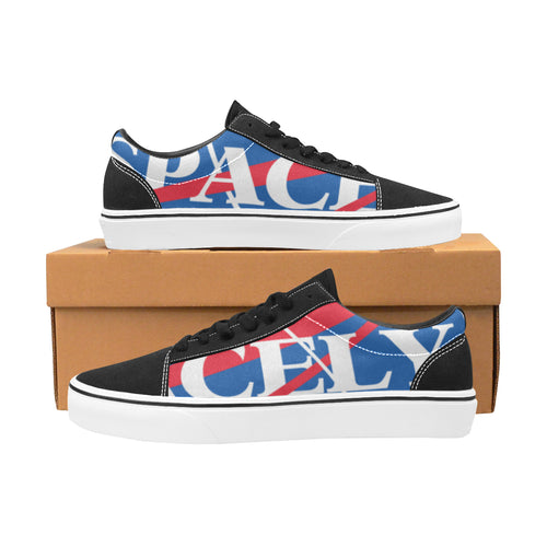 Spacely Clothing OG Men's Lace-Up Canvas Shoes - SpacelyClothing