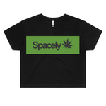Spacely Clothing Green  Leaf - Womens - SpacelyClothing