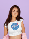 Spacely Clothing Explorer - Womens Crop Tee - SpacelyClothing