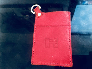 StarlingandHider Cardwallet,small with D-Ring,