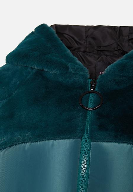 THE ASHLEY GREEN PUFFA JACKET - Story Of Lola