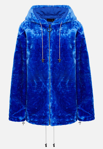 THE BRIGHT BLUE LOLA HOODIE (FULL ZIP)