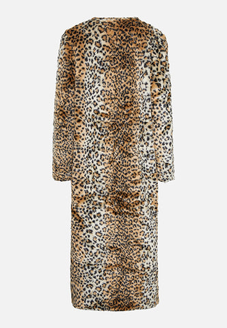 THE JADE FAUX FUR LEOPARD COAT - Story Of Lola