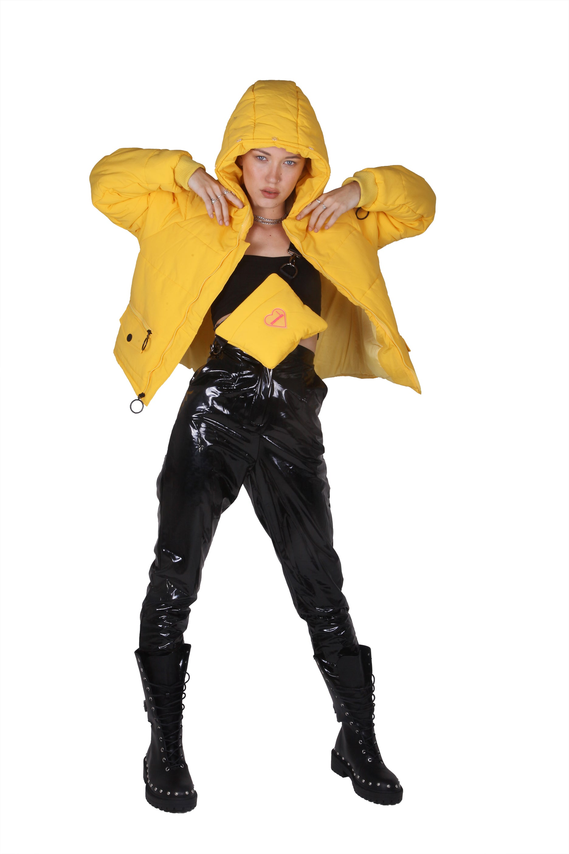 Story Of Lola | THE LEXI YELLOW PUFFA JACKET