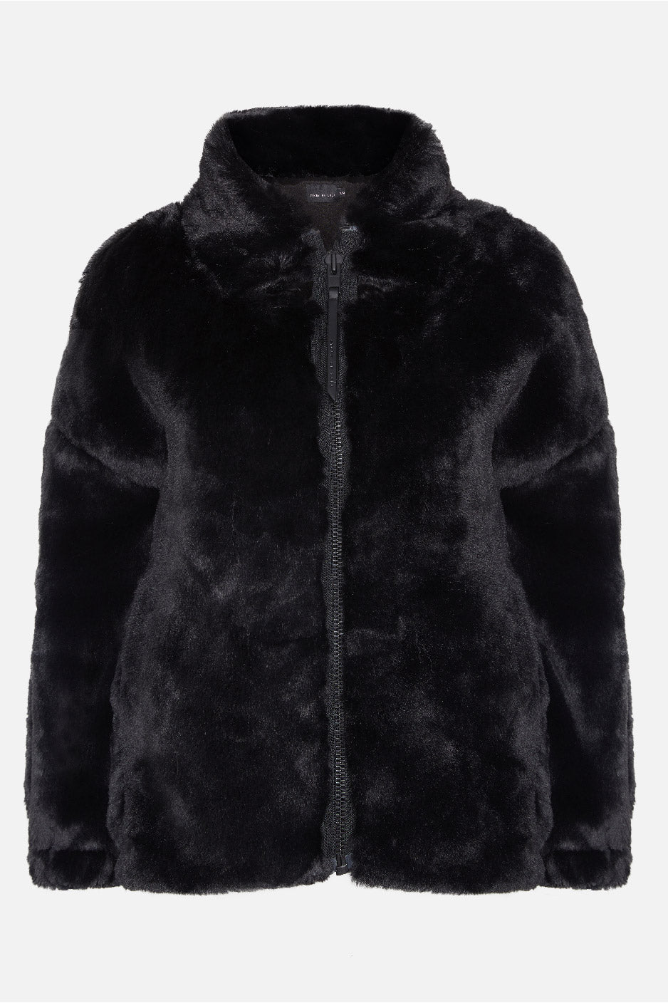 Cozy Luxurious Classic Zip Through Bomber