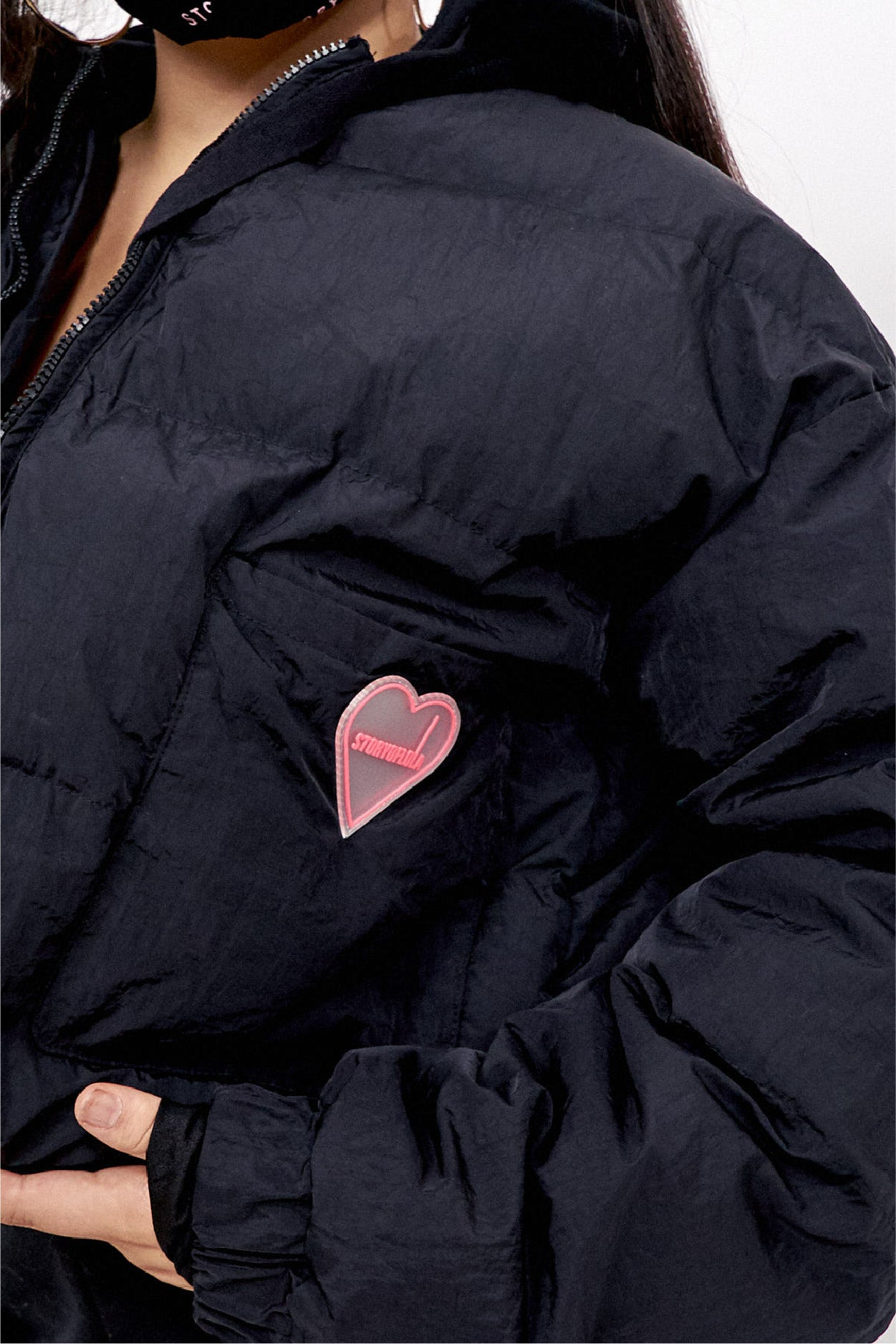 THE GIGI FULL ZIP PUFFA JACKET