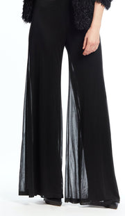 Black Illusion Mesh Pant