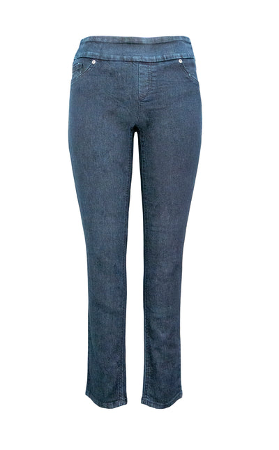 Denim Pull On Skinny Denim Pant