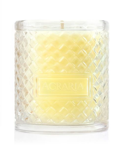 Bitter Orange Woven Crystal Candle